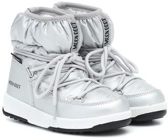 Moon Boot Kids Metallic snow boots