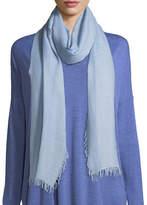 Eileen Fisher Wool-Silk Ombre Scarf