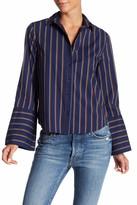 Abound Wide Sleeve Poplin Shirt