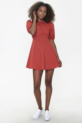 Forever 21 Fit Flare Mini Dress