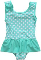 BeautyIn Baby Girls One Piece Cute Dot Ruffle Swimsuit 0