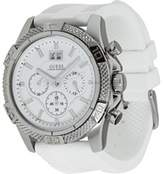 GUESS GUESS? Women's U16530G1 Silicone Quartz Watch with Dial
