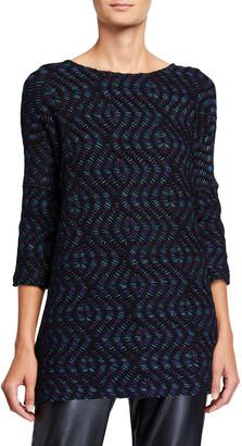 Caroline Rose Making Waves Knit One Size Tunic