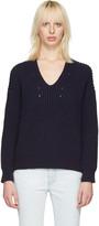 Acne Studios Navy Bernice Sweater