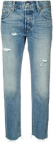 Levi's cropped tapered jeans - women - Cotton - 24
