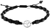 Tateossian Peace Macrame Bracelet