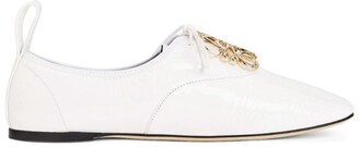 Loewe Leather Derby Anagram Shoes