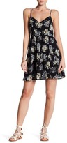 Lucca Couture Strappy Floral Mini Dress