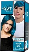 Splat Hair Color Complete Kit, Aqua Rush,