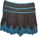 Hoss Intropia Grey Cotton Skirt for Women