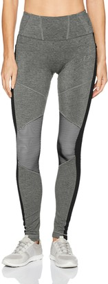 Blanc Noir Women's Legging with Textured Jersey