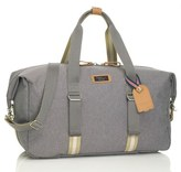 Storksak Infant Travel Duffel With Hanging Organizer - Grey