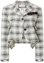 Sonia Rykiel cropped tweed jacket