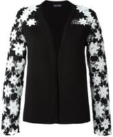 Ungaro embroidered sleeve sweater