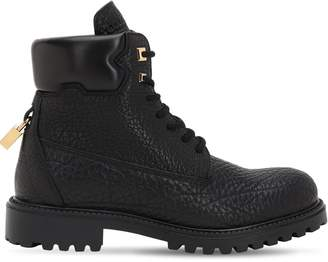 Buscemi Site Leather Boots