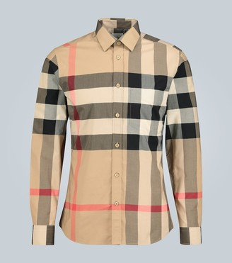 Burberry Somerton checked shirt