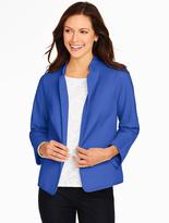 Talbots Honeycomb-Weave Jacket