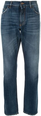 Dolce & Gabbana Regular Slim Jeans
