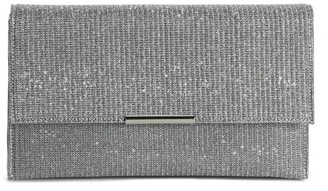 Lulu Townsend Shimmer Envelope Clutch