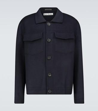 Acne Studios Dagnite wool twill jacket