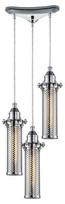Rawlings Sports Accessories 17 Stories 3 - Light Cluster Cylinder Pendant 17 Stories