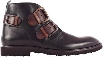 Dolce & Gabbana Contrast Buckle Boots