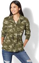 New York & Co. Camo Utility Jacket