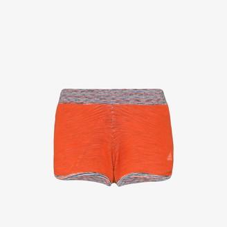 adidas X Missoni orange M20 track shorts