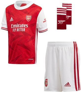 adidas Arsenal Infant 2020/21 Home Mini Kit - Red