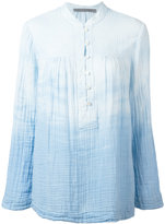 Raquel Allegra tie-dye print shirt - women - Cotton - 0