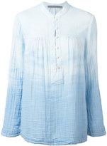 Raquel Allegra tie-dye print shirt