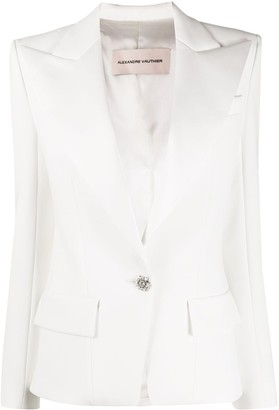 Alexandre Vauthier Fitted Long Sleeve Blazer