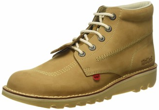 Kickers Men Kick Hi-Core Ankle Boots Brown (Tan/LT Cream) 7 UK ((41 EU))