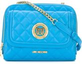 Love Moschino quilted cross body bag - women - Polyurethane - One Size