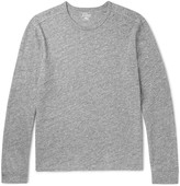 J.crew - Mélange Cotton-jersey Long-sleeve T-shirt