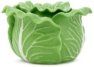 Tory Burch Lettuce Ware Candle Holder, Set Of 2