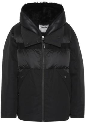 Yves Salomon Army cotton-blend jacket