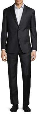 Michael Kors Sharkskin Wool Suit