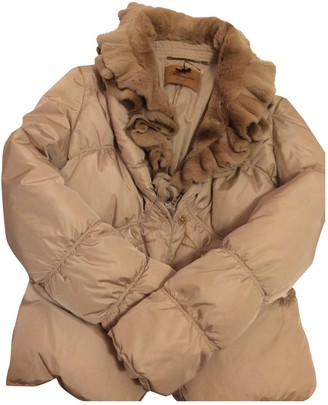 Blumarine Beige Coat for Women