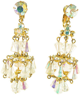 One Kings Lane Vintage 1950s Designer Chandelier Earrings - Neil Zevnik