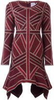 Herve Leger 'Carlotta' dress - women - Nylon/Spandex/Elastane/Rayon - L