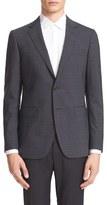 Lanvin Men's Extra Trim Fit Check Sport Coat