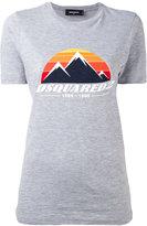 DSQUARED2 mountain logo t-shirt
