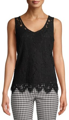 No Boundaries Juniors' Lace Top