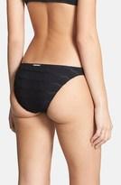Billabong 'Beach Tropic' Textured Bikini Bottoms (Juniors)
