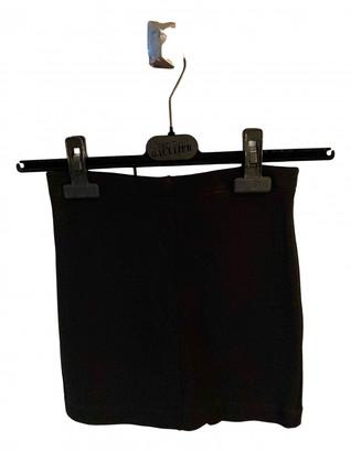Plein Sud Jeans Black Viscose Shorts
