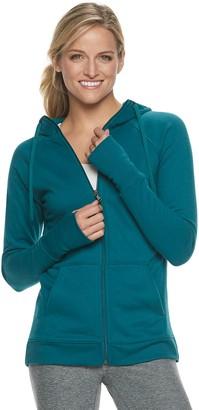 Tek Gear Women's Fleece Zip-Up Hoodie