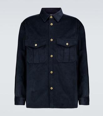 Loewe Cotton corduroy overshirt