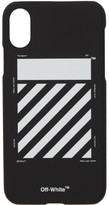 Off-White Off White Black Diagonal iPhone XS Max Case
