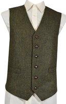 Lloyd Attree Classic Wool Handle Traditional Style Flecked Tweed Waistcoat